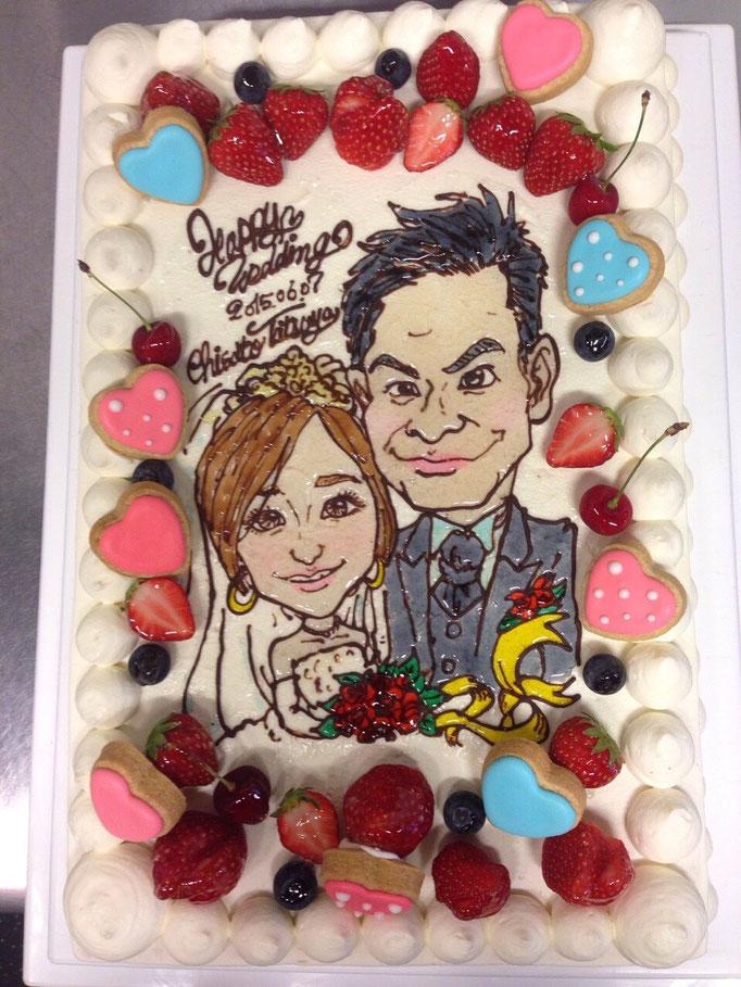 カナリーカラメル 静岡でウェディングケーキ