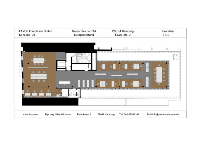 büro + konferenz - room & space innenarchitektur, Innenarchitektur ideen