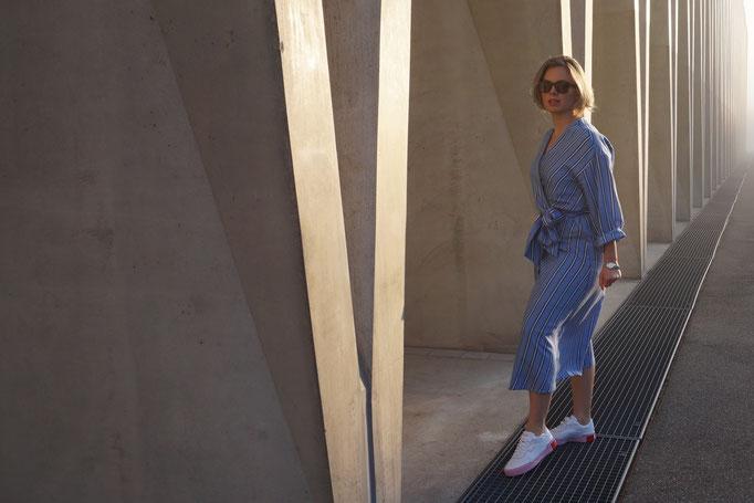 Super City Look mit bequemen Schuhen :)