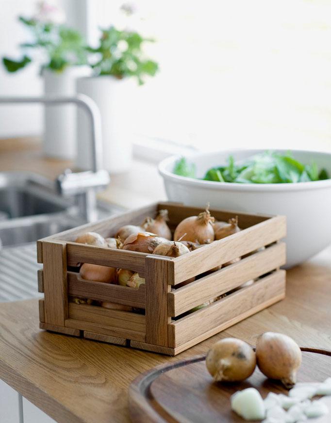 Dania - Kiste in 3 Grössen aus Teak, €89 - €99