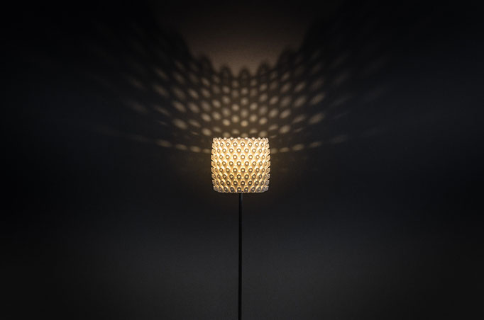 Pore - LED Leuchte aus dem 3D-Drucker, €351 - €394 je nach Höhe