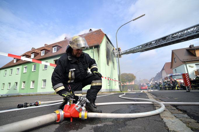Arzberg | Explosion in Wohnhaus