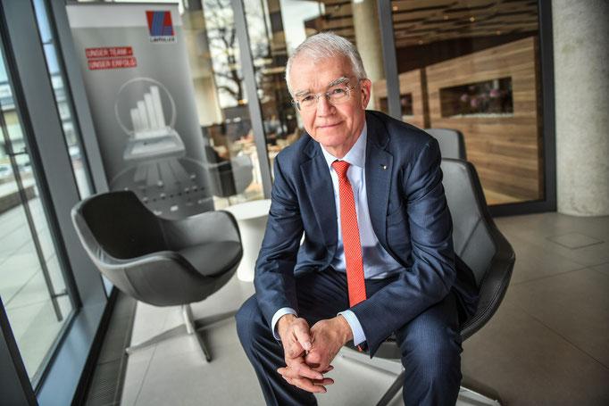 Lamilux- Geschäftsführer Dr. Heinrich Strunz