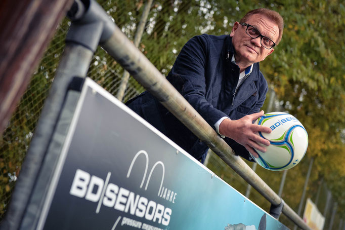 Rainer Denndörfer - Unternehmer und Fußballfan