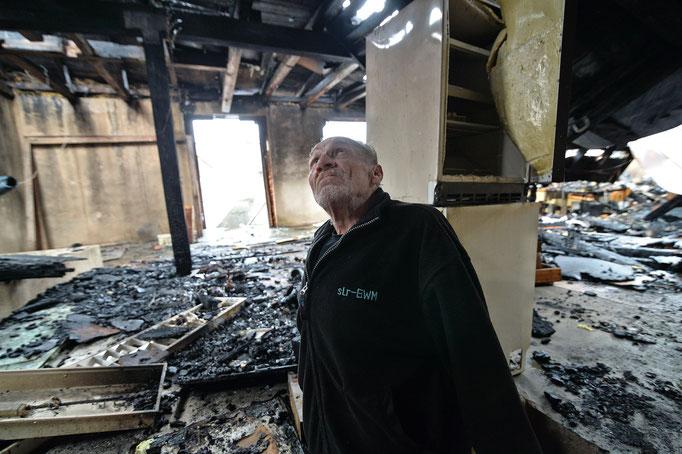 Kirchenlamitz | Brand zerstört Wohnhaus