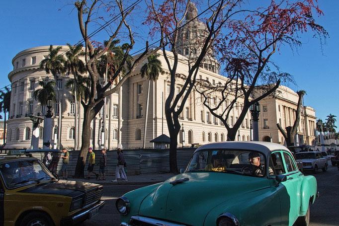 Verkehrschaos am Capitolio
