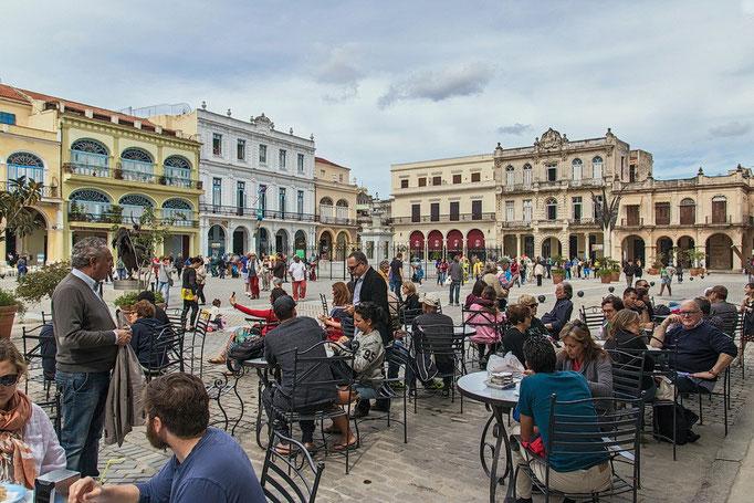 Plaza Vieja in Havanna