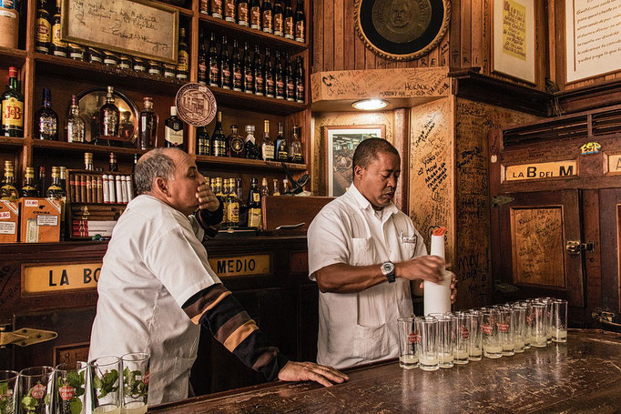 Hemingways Stammkneipe in Havanna