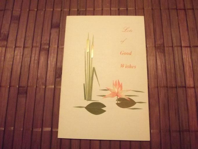 Lotos aus Blüten und Papier / Indien