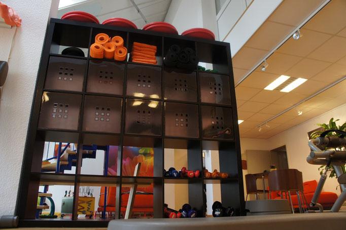 Kleinequipment macht das Training individuell, abwechslungsreich und effektiv.
