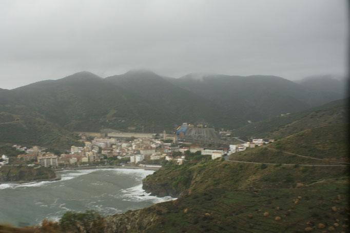 Erstes Dorf in Spanien Portbou
