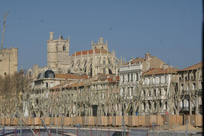 Die Kathedrale des Erzbischof ist weitherum sichtbar