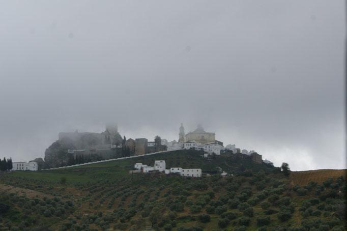 Olivero noch im Nebel