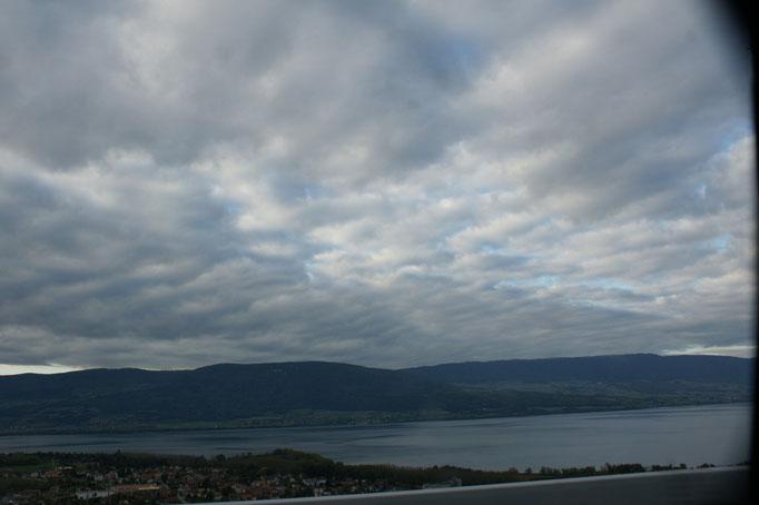 Werden das wohl die letzten Wolken sein...