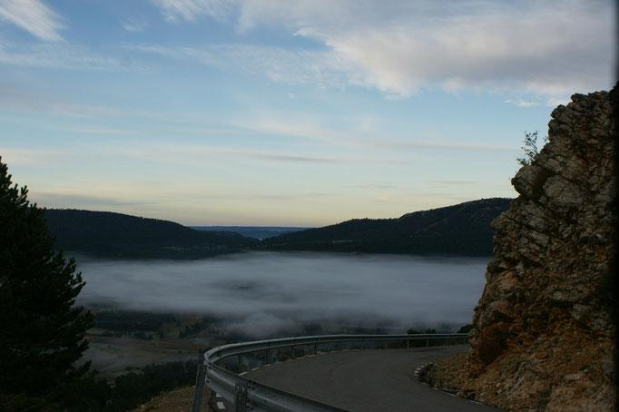 die Nebelschwaden ziehen