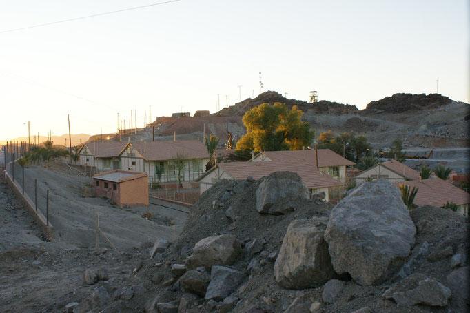 Beim Bergwerk