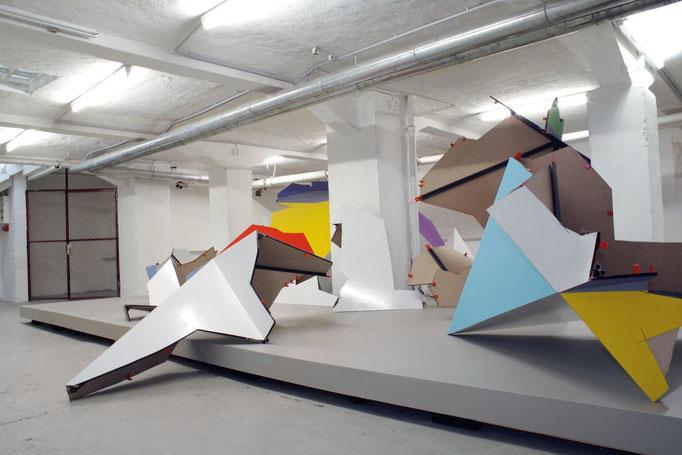 XEROX Ansicht UG Galerie Conradi Hamburg
