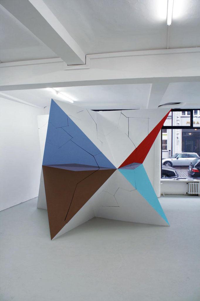 XEROX 2009 Ansicht EG Galerie Conradi Hamburg