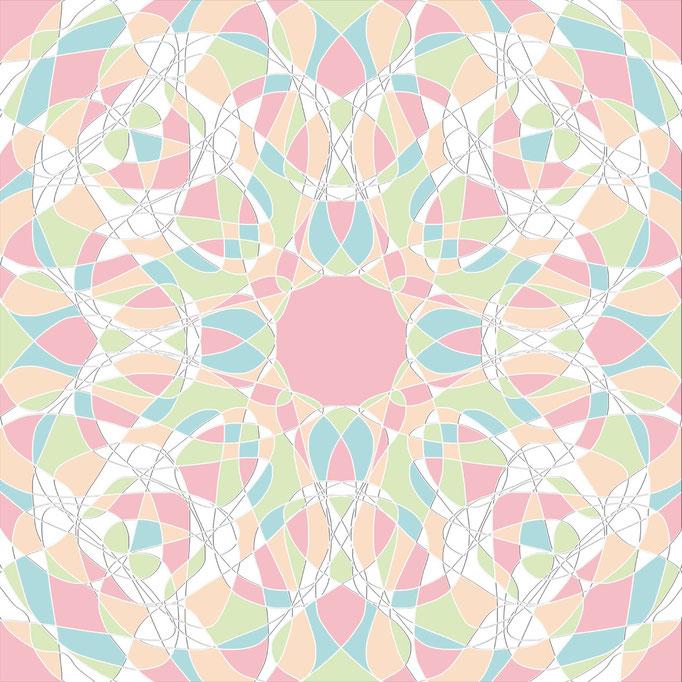 Pastell Kaleidoskop