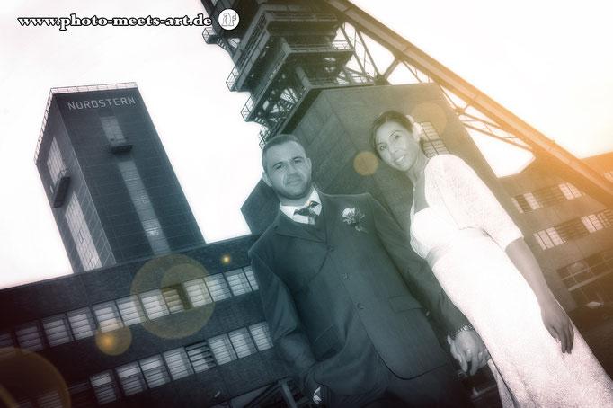 People Fotografie - Wedding - Hochzeit - Zeche Nordstern - Fotos by Ivano Fargnoli - www.photo-meets-art.de - Rommerskirchen