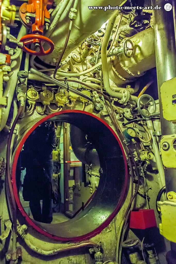 Belgien - Zeebrugge - Russisches U-Boot U-480 Foxtrot