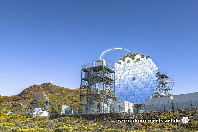 Spanien - La Palma -  Observatorium auf dem Roque de Los Muchachos - Fotos by Ivano Fargnoli - www.photo-meets-art.de