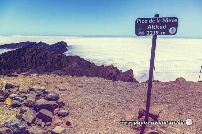 Spanien - La Palma - Über den Wolken - Fotos by Ivano Fargnoli - www.photo-meets-art.de