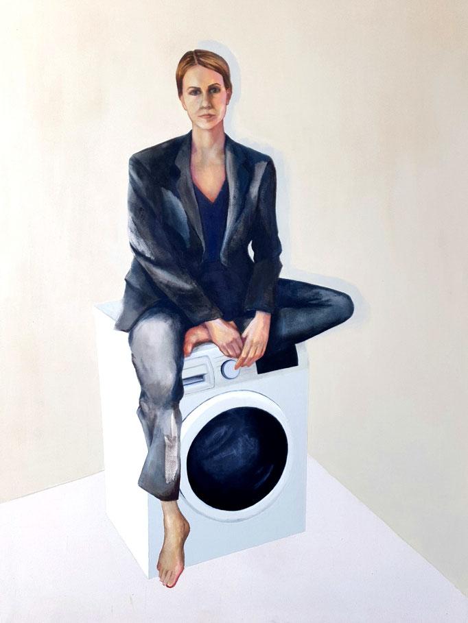 Modern Woman (2019) - 160 x 120 cm, Acryl auf Leinwand