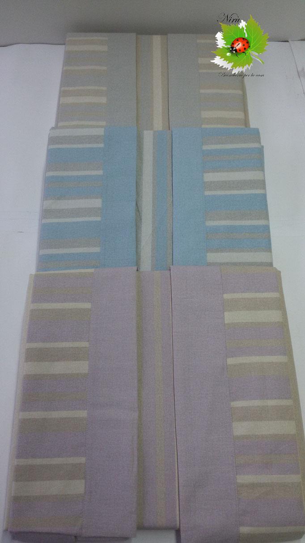 Completo lenzuola con fascia di Regina Schrecker per letto matrimoniale due piazze. B202