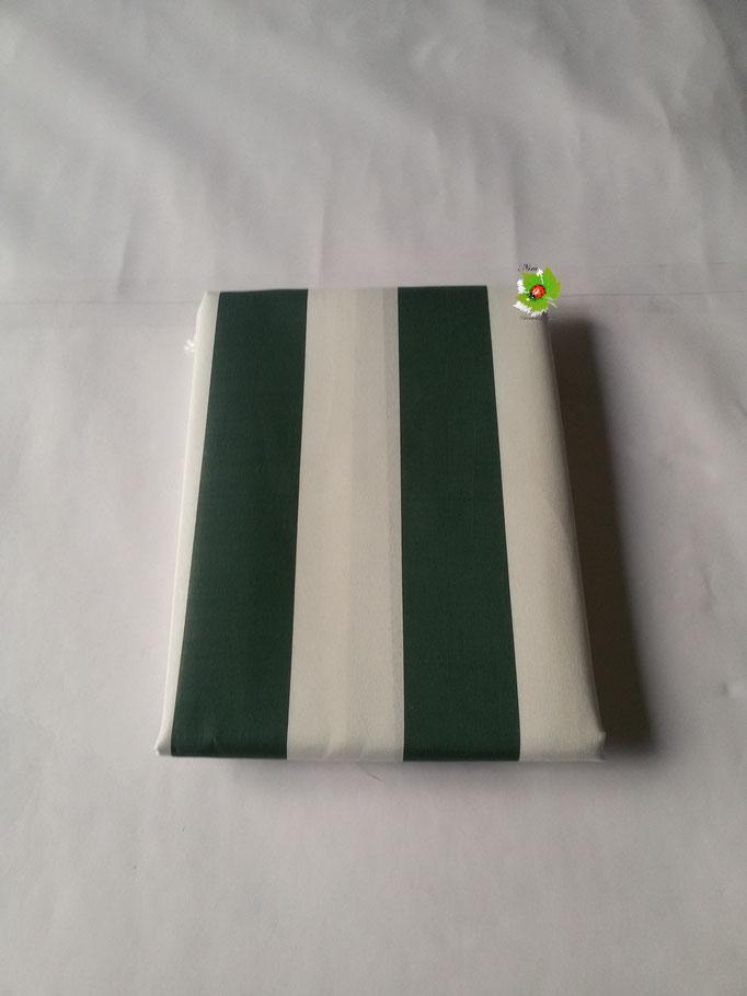 Tenda da sole con anelli 150x250 cm. Col.Verde. Art.A135