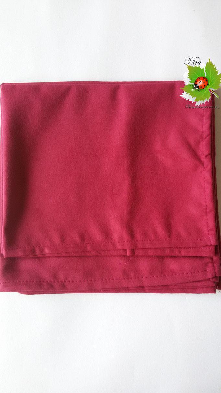 Set 1+1 asciugamano + ospite in microfibra. Col.Bordeaux.A812