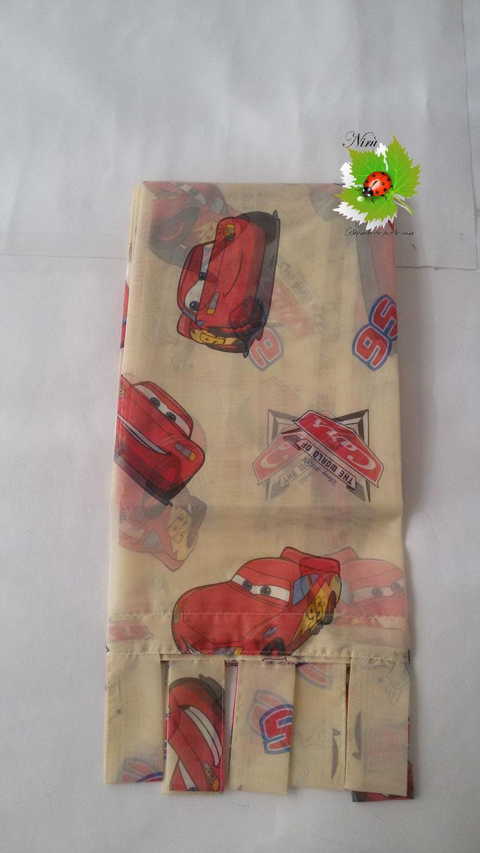 Tenda con passanti Disney Cars 140x290 cm. Art.A239