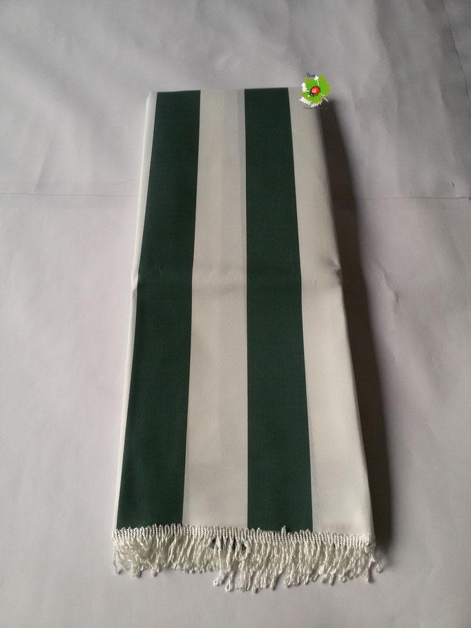 Tenda da sole con anelli 290x290cm. Col.Verde. Art.B512