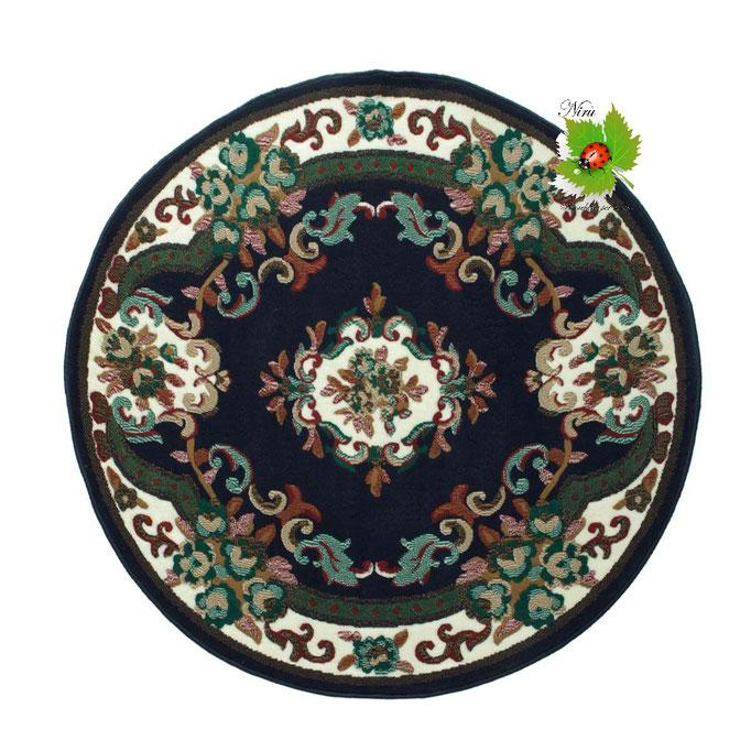 Tappeto classico Chinese Garden 120 cm. Col.Blu. Art.N225