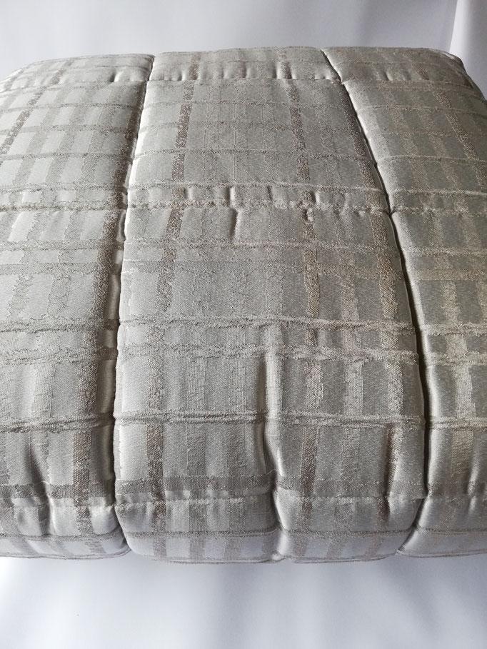 Trapunta piumone matrimoniale invernale Art.Talia Sergio Tacchini.  Col.Fango. B518