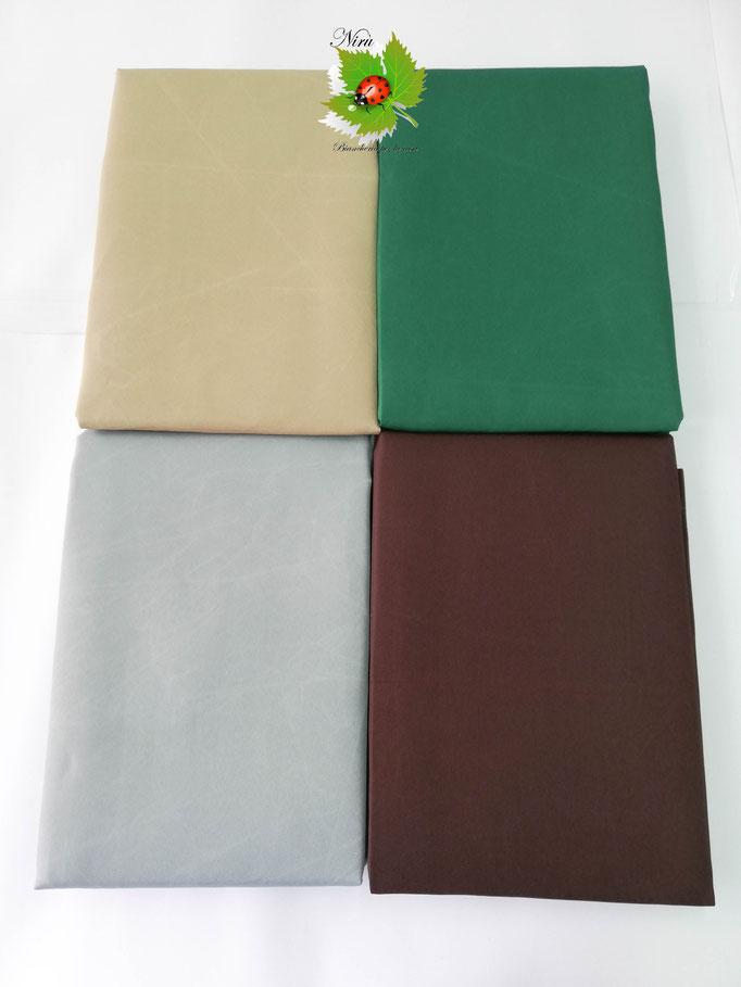 Tenda da sole con anelli tinta unita 140X300 cm per esterno. Art.Caraibi. B464