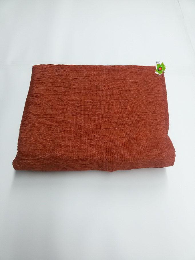 Copridivano elasticizzato 1 posto in tinta unita 85a115 cm.Col.ArancioArt.A469