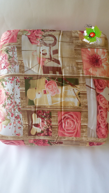 Trapunta piumone invernale Rose Love con stampa digitale 4D Laura Blasi singola. A970