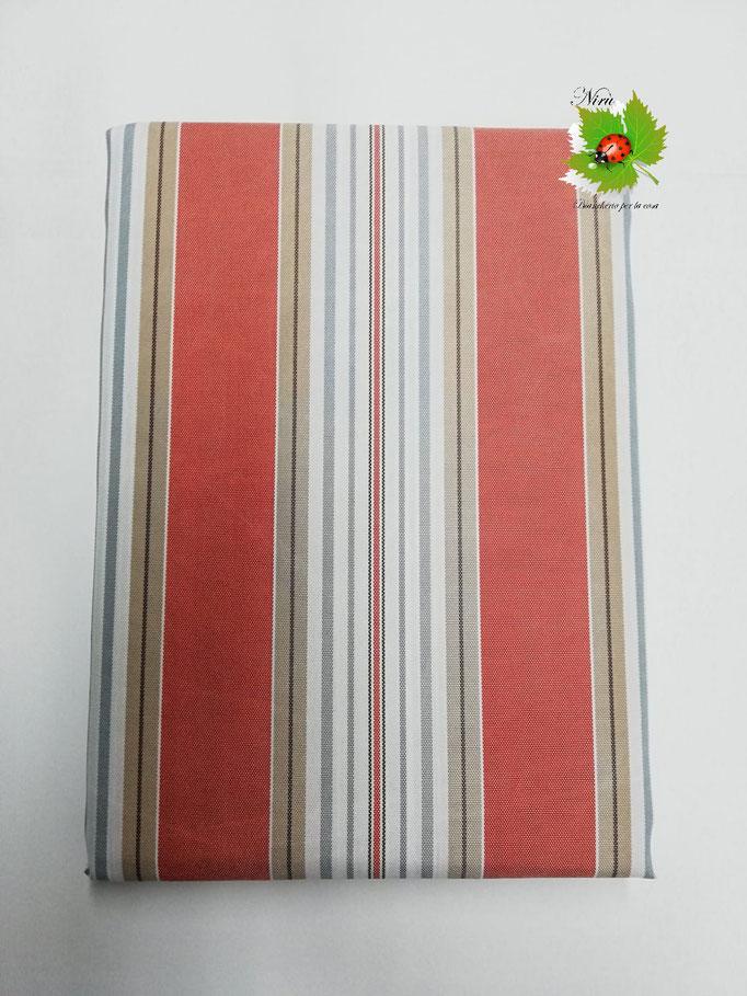Tenda da sole con anelli 290X290 cm per esterno. Art.Stromboli. Col.Arancione. B410
