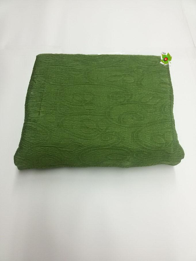 Copridivano elasticizzato 1 posto in tinta unita 85a115 cm.Col.Verde Art.A469