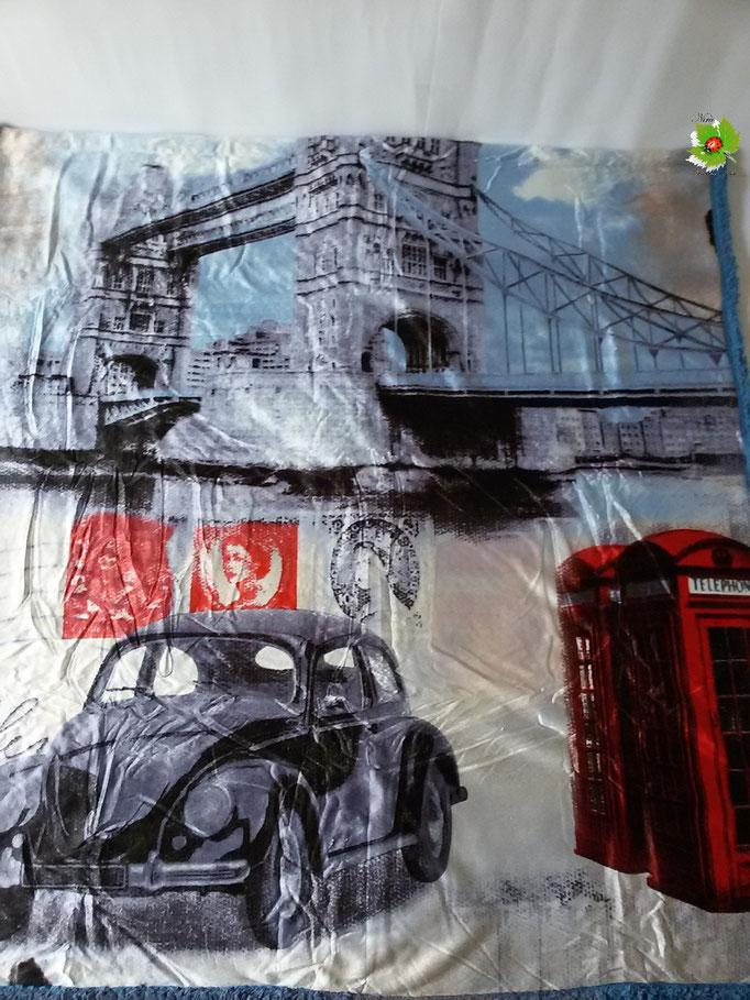 Coperta Plaid in pile singolo london 130x160 cm Art.A304