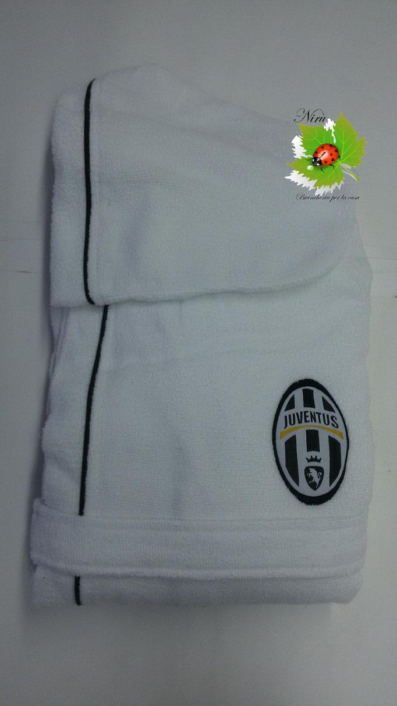 Accapatoio F.C Juventus Ufficiale in microspugna per adulto salvaspazio. A879
