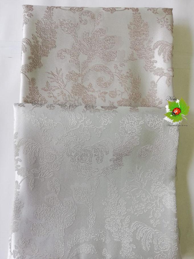 Scampolo tessuto jacquard dis. foglie 280x280 cm. B236