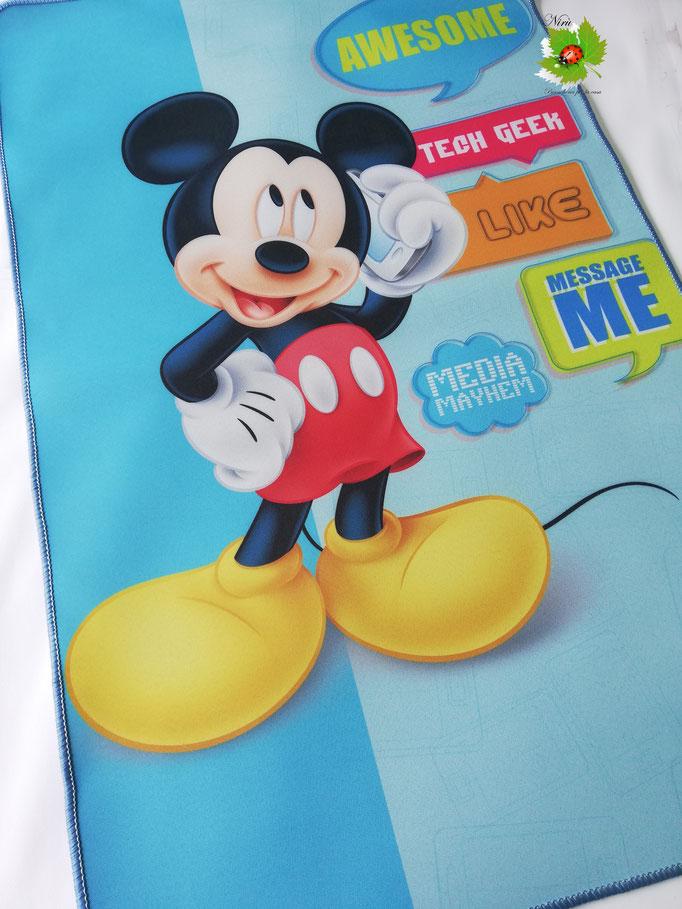 "Tappeto Disney ""Topolino""antiscivolo 80x110 cm. N156"