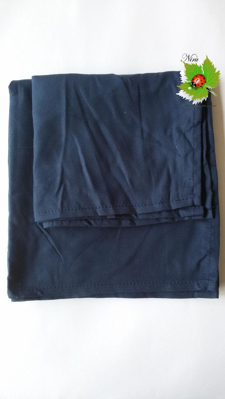 Set 1+1 asciugamano + ospite in microfibra. Col.Blu.A812