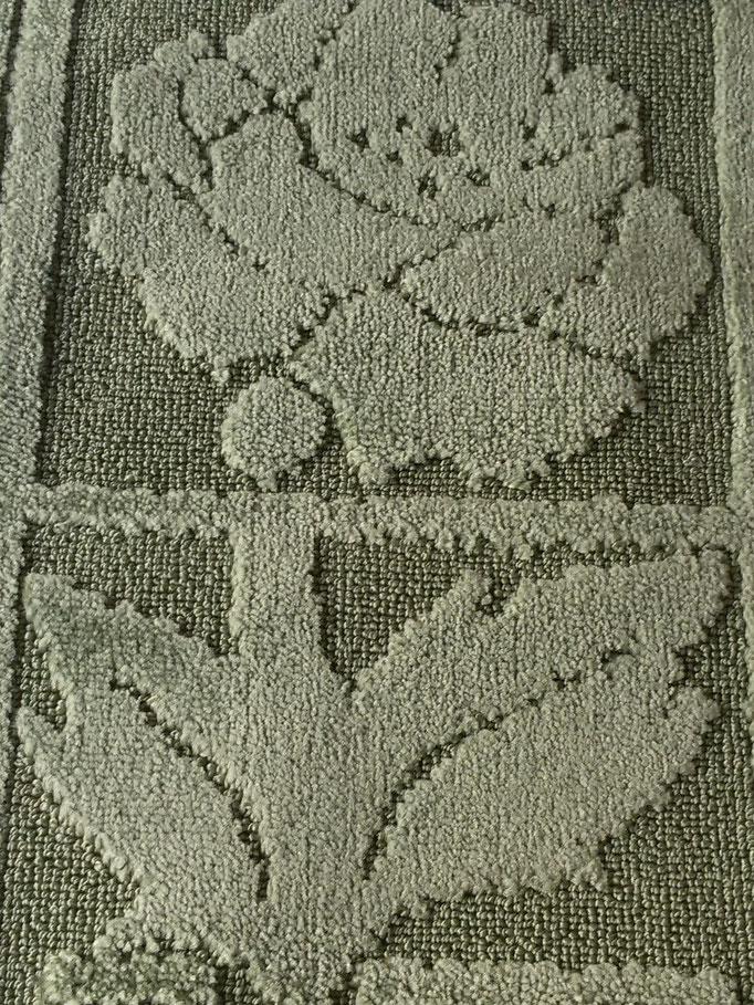 Tappeto bagno retatngolare antiscivolo,col.verde Art.A510