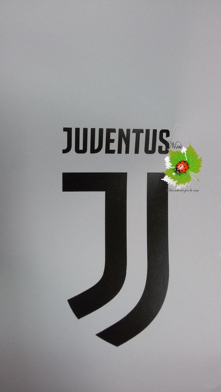 Tappeto scendiletto logo Juventus Antiscivolo Ufficiale 70x100 cm. A872