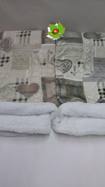 Plaid in pile agnellato caldissimo stampati matrimoniale 200x230 cm. A511