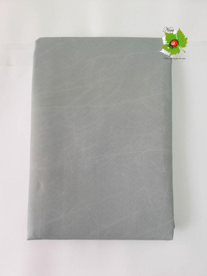 Tenda da sole con anelli tinta unita 140X300 cm per esterno. Art.Caraibi. Col.Grigio. B464