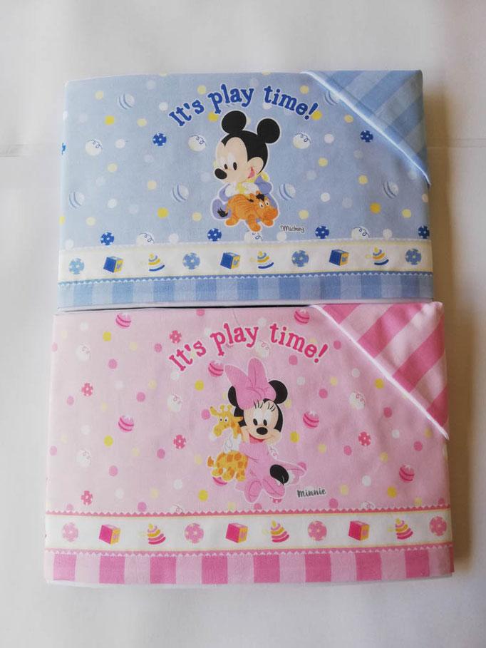 Completo lenzuola Disney baby lettino (culla) 100% cotone. C058